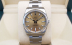 ROLEX Oyster Perpetual 34 MM - Cadran Champagne.
