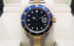 "ROLEX Submariner Date Or / Acier - Full Set. "" Ayrton SENNA ""."