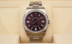 ROLEX Oyster Perpetual 36MM - Cadran Red Grape.