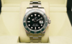 "ROLEX Submariner Date 116610LV "" HULK "" - Full Set."