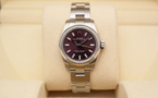 ROLEX Oyster Perpetual Lady - Cadran Red Grape.