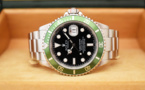 ROLEX Submariner Verte 16610LV FAT FOUR Mark I - Année 2003.