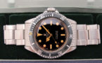 ROLEX Submariner 5513 laqué / Gilt -