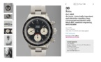 Record absolu pour une ROLEX DAYTONA 6263 BIG RED !