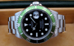 "ROLEX Submariner Verte 16610 LV "" Fat Four "" Mark I -"