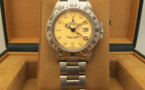 ROLEX Explorer II 16550 Ivory Rail Dial - Full Set -
